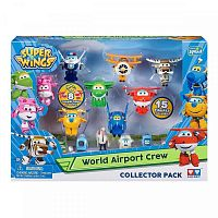 Игровой набор Super wings World Airport Crew (YW710640 (EU710640))