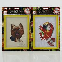 Вышивка крестиком Danko Toys CROSS STITCH (VKB-01-02-03...04)